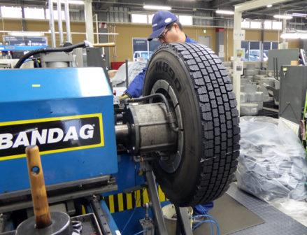 新たな挑戦 ブリヂストンタイヤジャパンの生産財タイヤソリューション