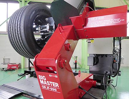 小野谷機工 タイヤチェンジャー「BIGMASTER ORX-999」