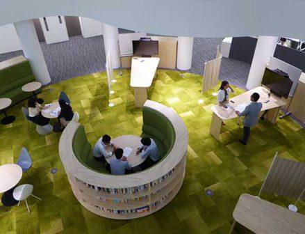【東洋ゴム】伊丹の新本社ビルを公開 社内の連携と結束へ