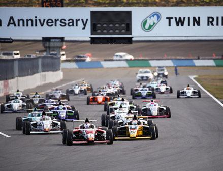 【住友ゴム】FIA-F4選手権にダンロップタイヤの供給継続