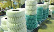 愛知タイヤ春日井工場 用途によって生産品目は500種類に