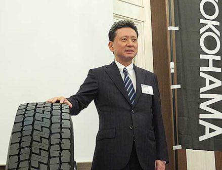 横浜ゴム 生産財タイヤで攻勢 次世代に向けて商品拡充